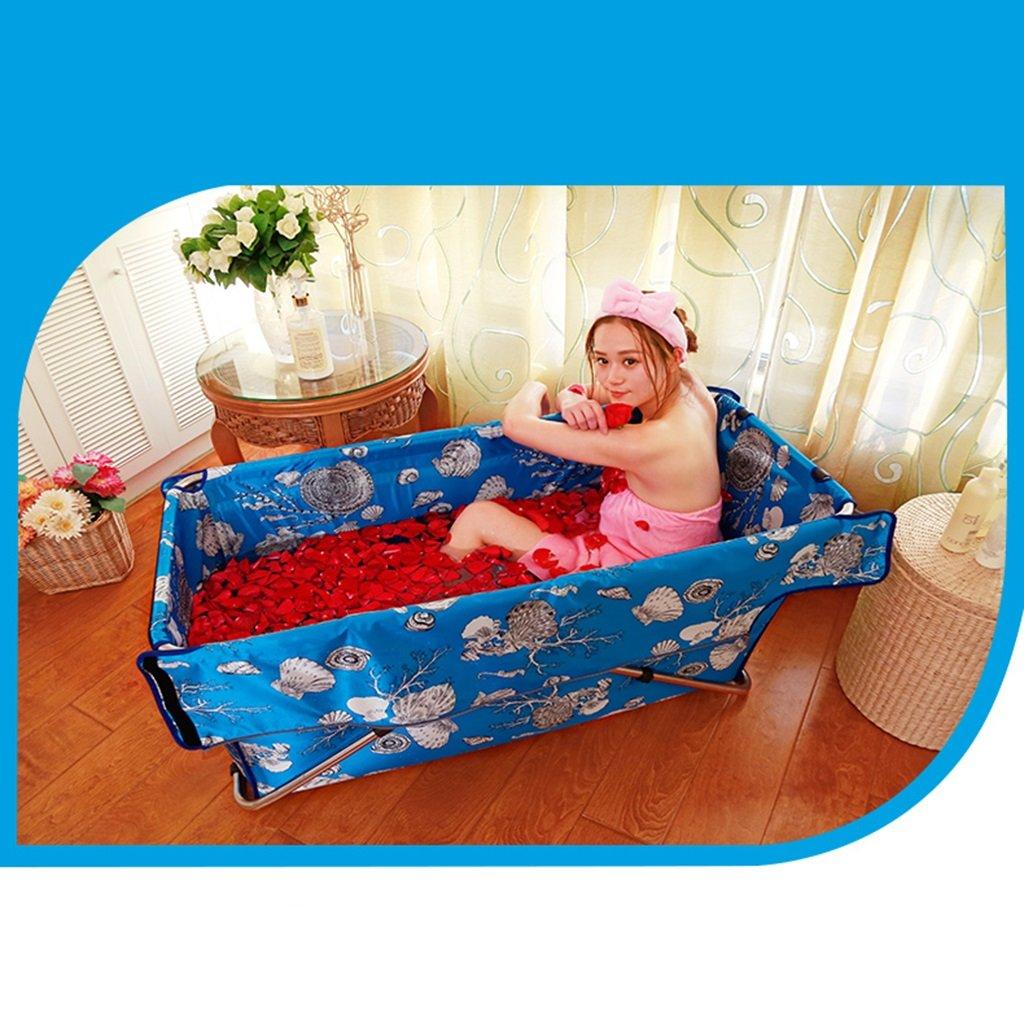 Peaceip Ba/ñera plegable Ba/ño de ba/ño inflable libre Ba/ño adulto Piscina infantil Incremento engrosamiento de aislamiento
