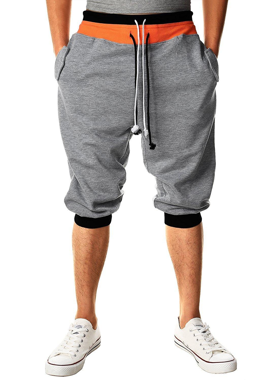 Minetom Jogging Pantaloni Tuta Fondo Pantaloni Allenamento Running Release Pantaloni da Danza da Uomo