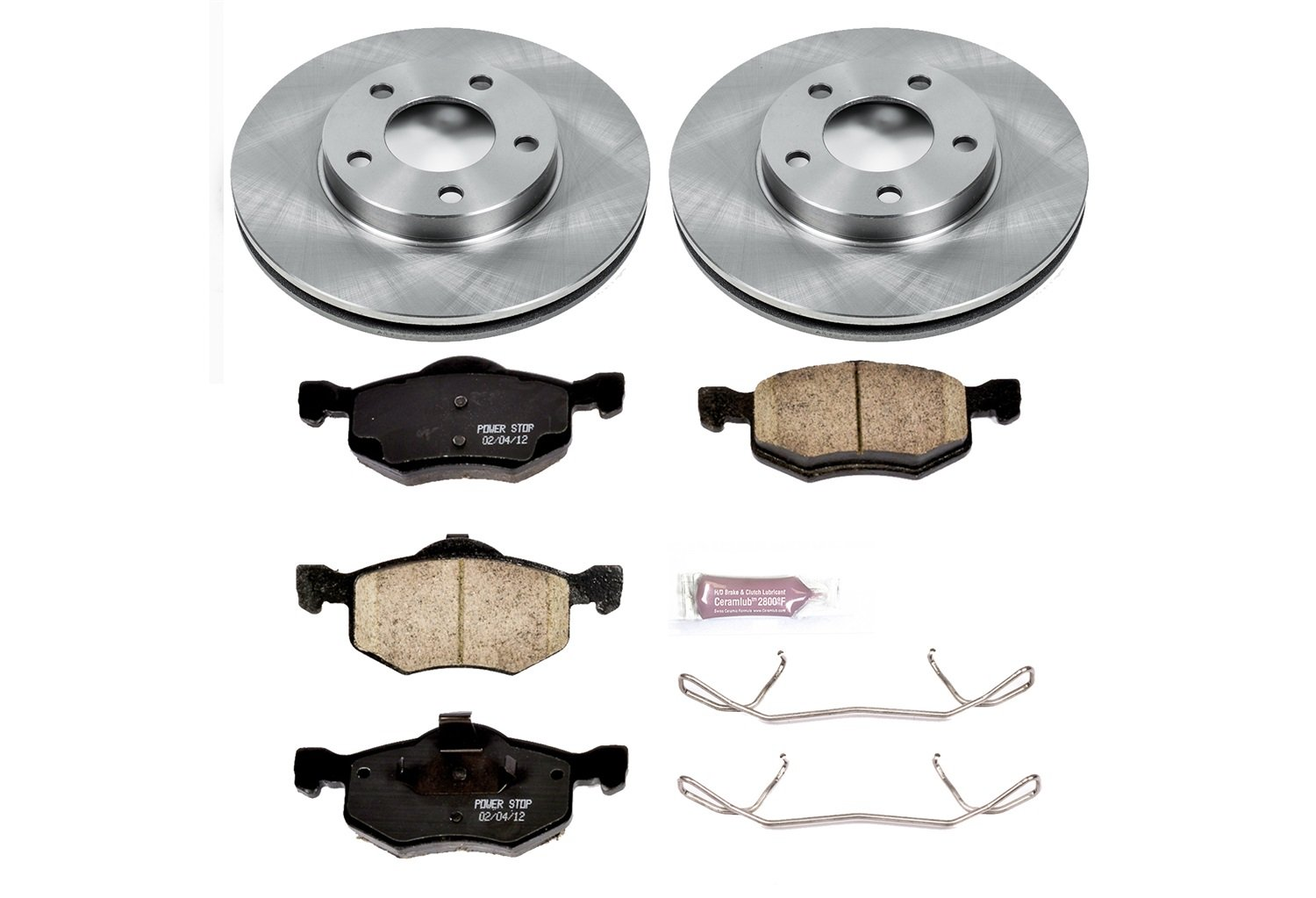 Autospecialty KOE1930 1-Click OE Replacement Brake Kit