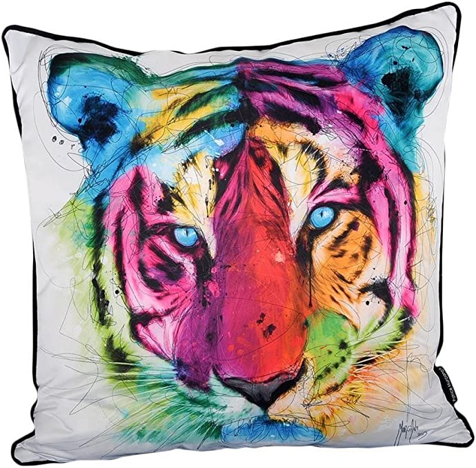 55 cm Coussin de luxe avec Murciano Imprimé tigre: Amazon