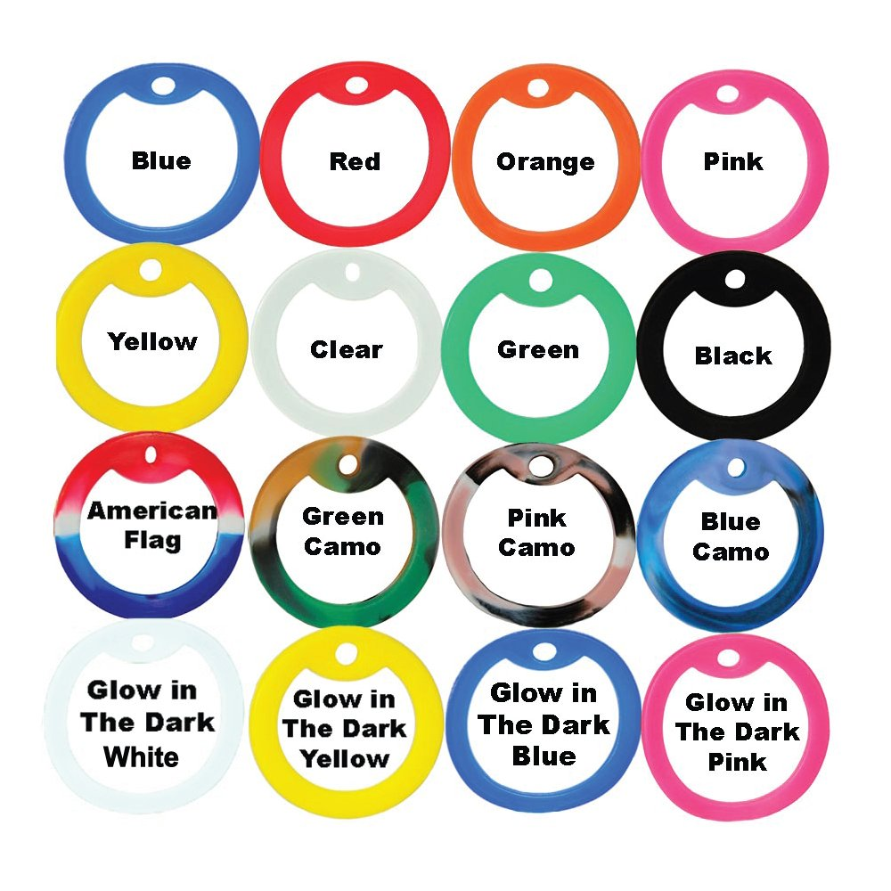 GoTags Pet ID Custom US Military Dog Tag Personalized ID Set. Complete with Chains and Silencers by GoTags Pet ID (Image #3)