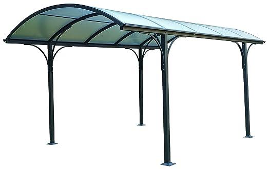 Gazebo Per Auto In Alluminio.Eurobrico Tettoia Carport Per Esterno In Policarbonato E Alluminio