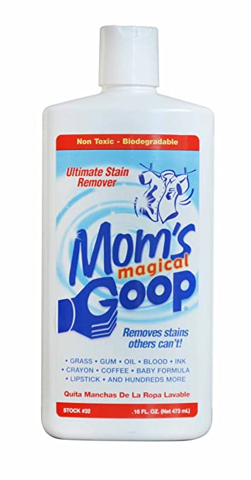 Moms Magical Goop Stain Remover, Removes Stains Others Cant, 16 oz Bottle With Flip Top