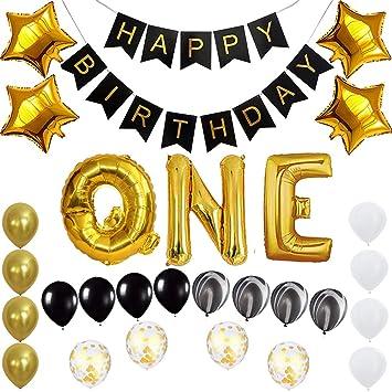 Amazon.com: Juego de globos de cumpleaños de alta calidad ...