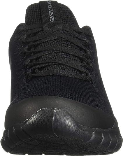 Skechers Sneakers Uomo Nero in Materie TessiliSintetico