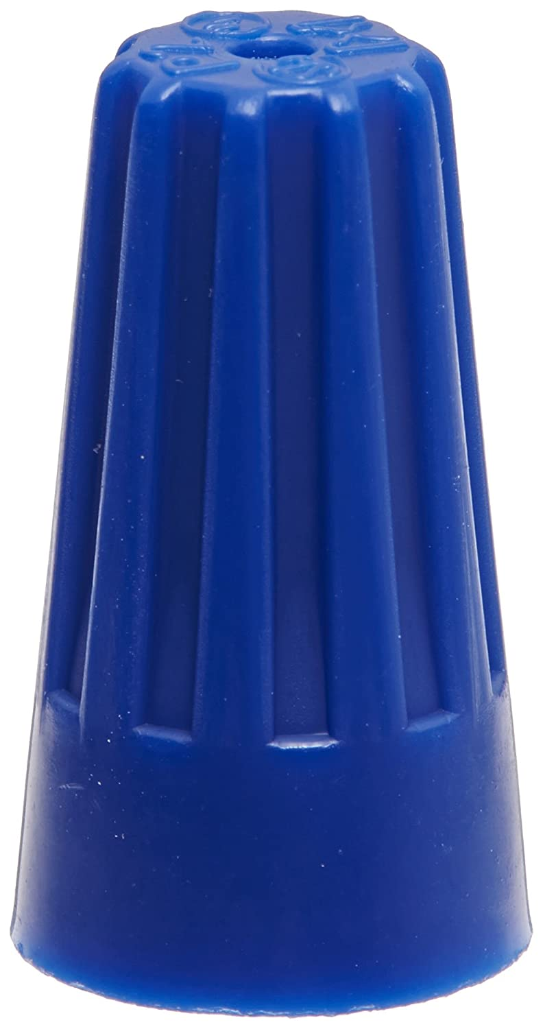 300V Standard Type Small Jar of 300 Blue 22-14 AWG Wire Range Easy-Twist Twist-On Wire Connector