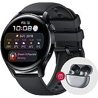"""Huawei Watch 3 Active, Smartwatch 4G z GPS, Wyświetlacz AMOLED 1,43"""", eSIM, do 14 dni pracy baterii, Czarny pasek z…"""