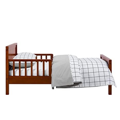 Amazon Com Baby Relax Toddler Bed Dark Cherry Wood Toddler Beds