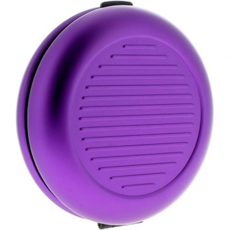 ÖGON Smart Wallets Designs CD-Purple Porte-monnaie Euro Monnayeur Aluminium anodisé Violet Ögon Designs