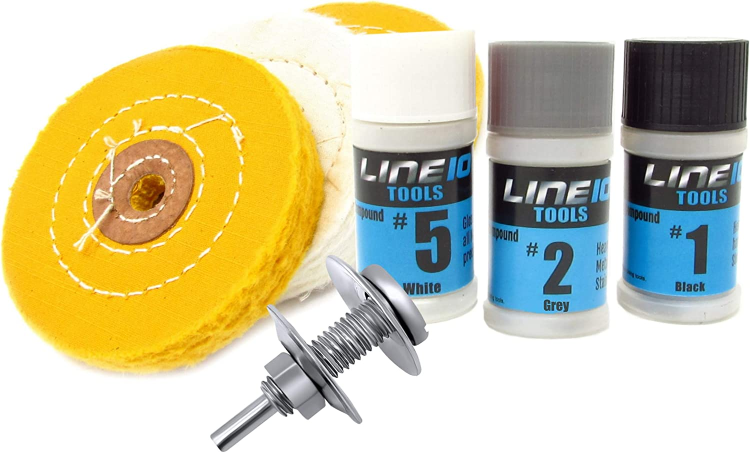 150 Carded Polishing Compound Kit to Apply on buffing wheels for polishing metal