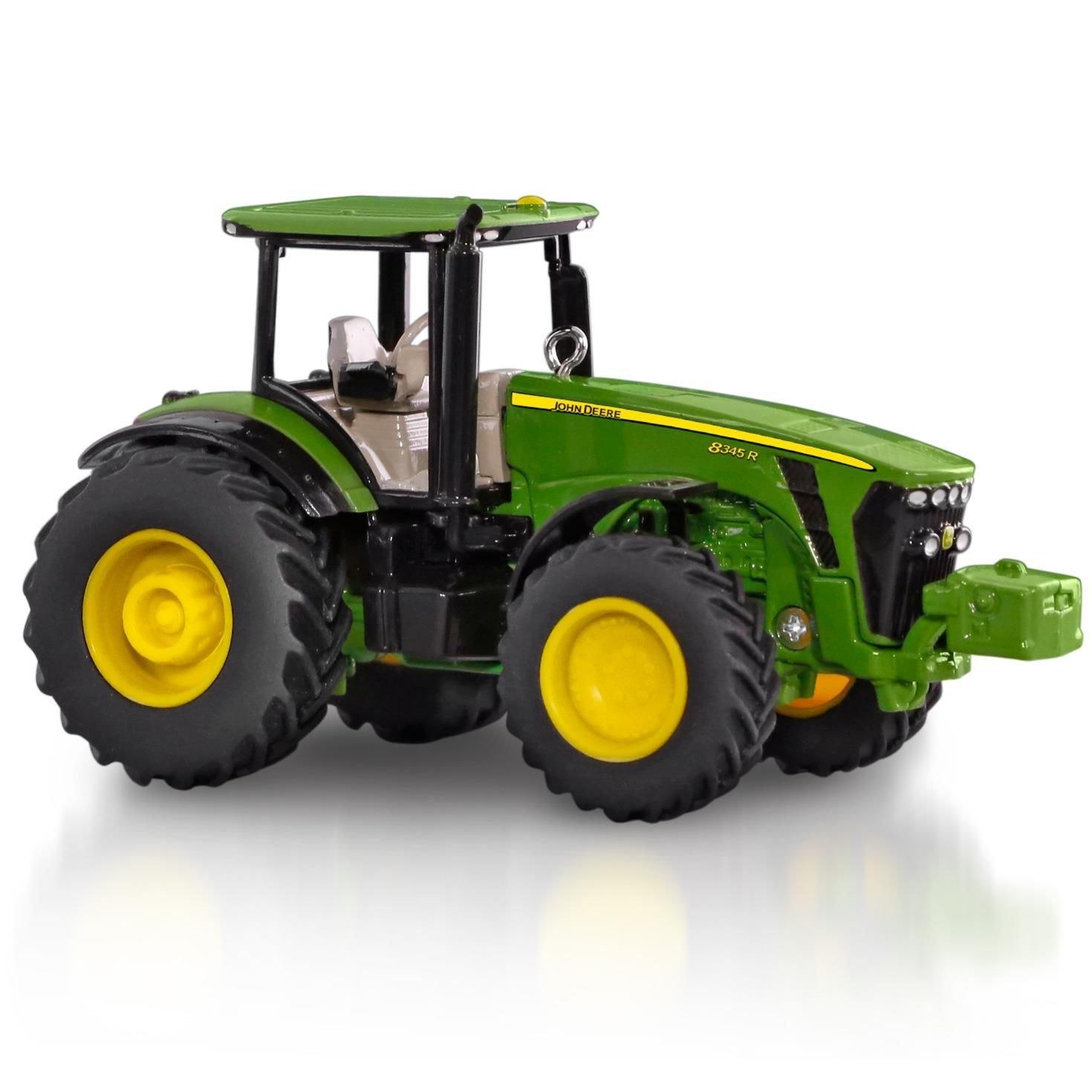 Amazon.com: John Deere 8345R Tractor Ornament 2015 Hallmark: Home ...