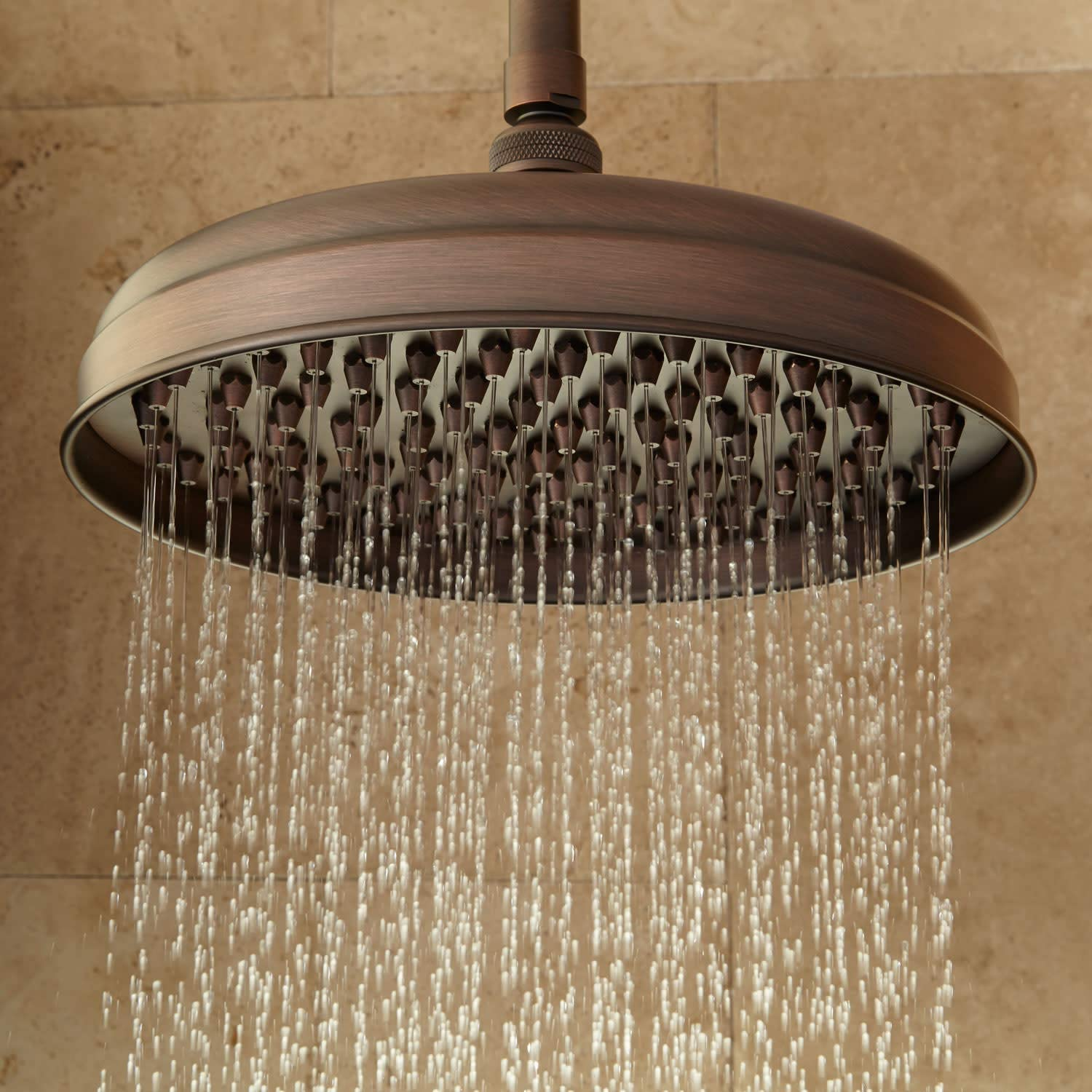 Signature Hardware 214373 12 Lambert 1.9 GPM Single Function Rain Shower Head