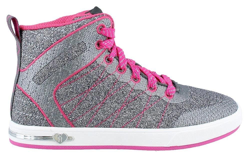Skechers Girls Shoutouts Glitzy Ritz High Top Sneaker