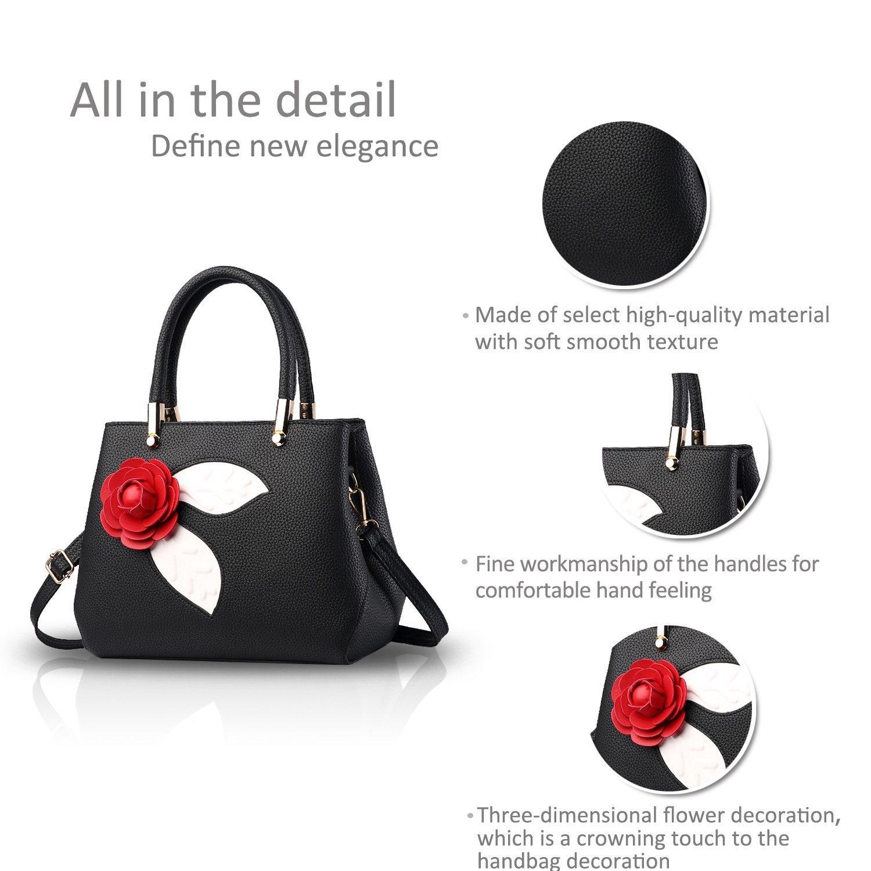 Zonlin Damen Handtasche Portable Umhängetasche, Casual Messenger Messenger Messenger Bags für Frauen B07C7PXP9T Umhngetaschen Ruf zuerst 75c5ba