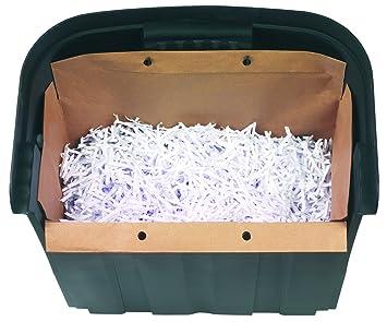 Rexel Mercury 2102063 - Pack de 20 bolsas reciclables para ...