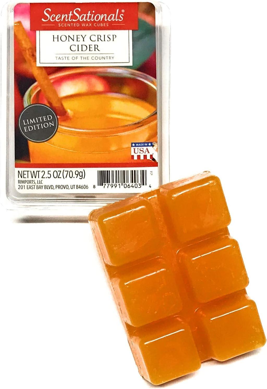 ScentSationals Honey Crisp Cider Wax Cubes - 2017 Limited Edition
