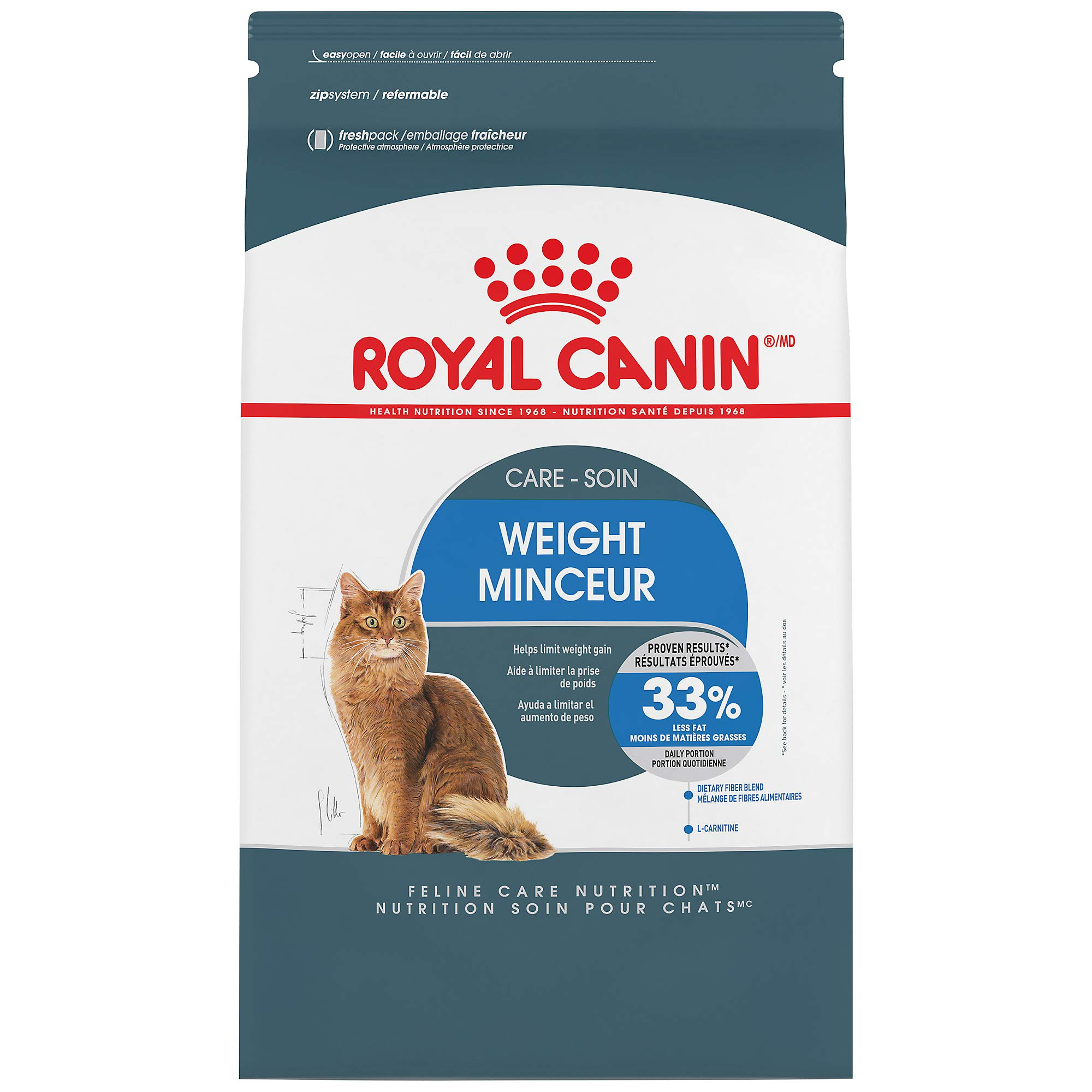 Royal Canin Weight Care Dry Cat Food, 14 lb. bag by Royal Canin