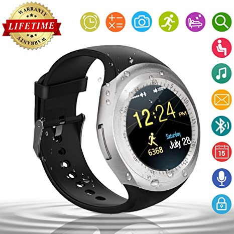 Smart Watch,Relojes Inteligentes Teléfonos Inteligentes Bluetooth Smart Watch Reloj Inteligente Hombre Mujer Niño Reloj