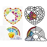 Melissa & Doug- Corazón y Arco Iris Stained