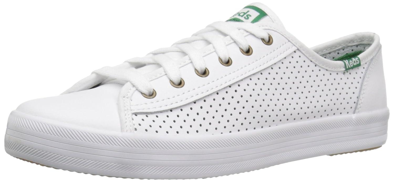 White Keds Women's Kickstart Leather Sneakers