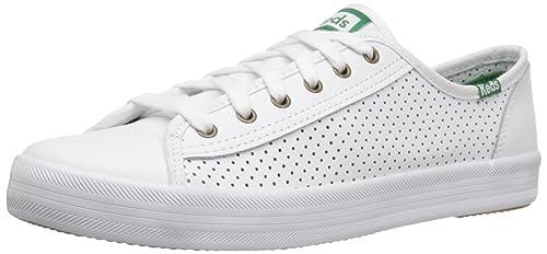 944762e82 Keds Women s Kickstart Leather Fashion Sneaker  Amazon.co.uk  Shoes ...