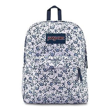 JANSPORT Superbreak Backpack White Field Floral Schoolbag JS00T5014Z9 Rucksack JANSPORT Bags: Amazon.es: Equipaje