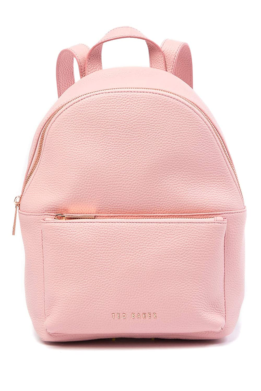 652182cc1 Ted Baker London Pearen Soft Grain Leather Backpack (Light Pink):  Amazon.co.uk: Shoes & Bags