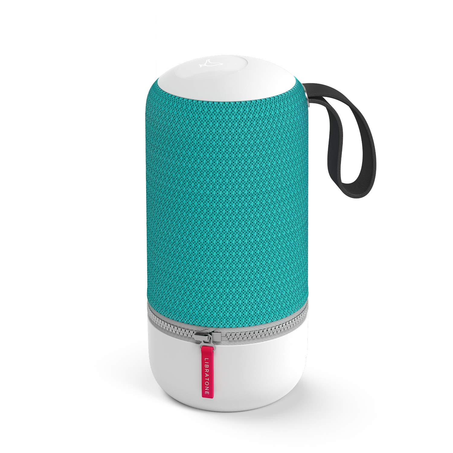 Libratone Zipp Mini 2 Portable Smart Speaker with Amazon Alexa Built-in, Voice Control, Wi-Fi & Bluetooth Connection, 75W Powerful Sound, Multi-Room Music System, 12 Hour Playtime-Pine Green