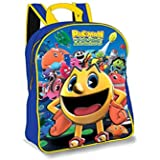 Pac-Man and the Ghostly Adventures 3D Junior backpack Rucksack School Nursery Travel Children's Back Pack