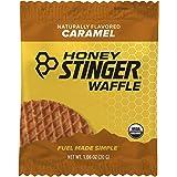 Honey Stinger Organic Waffle, Caramel, Sports Nutrition, 1.06 Ounce (16 Count)