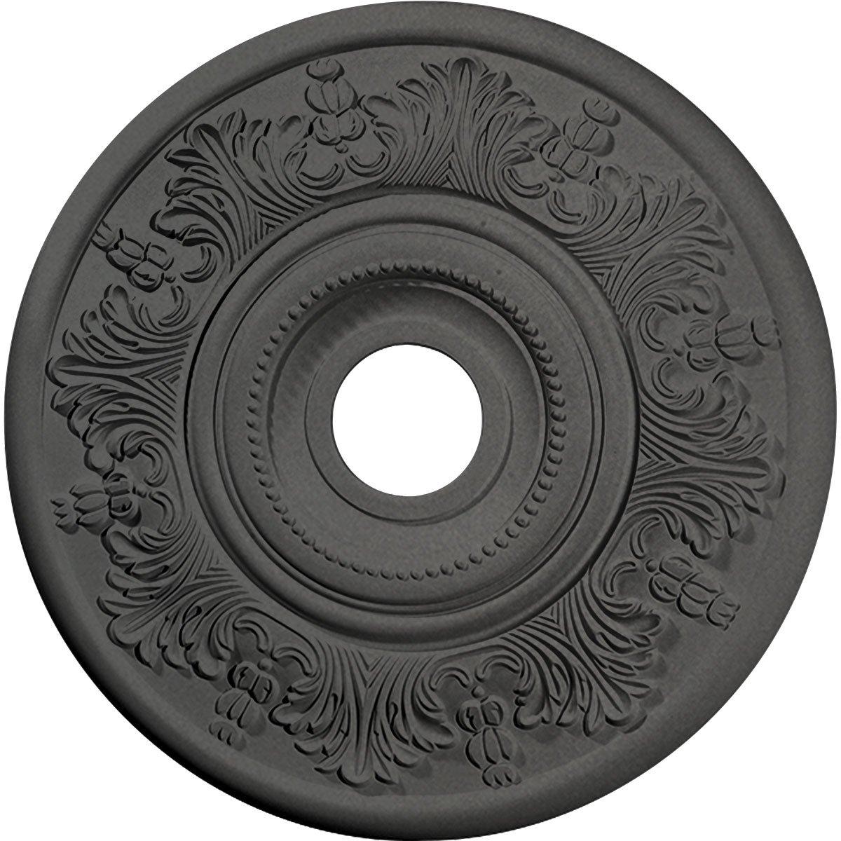 Ekena Millwork CM20VISGS Vienna Ceiling Medallion, 20'' OD x 3 1/2'' ID x 1 1/2'' P, Steel Gray