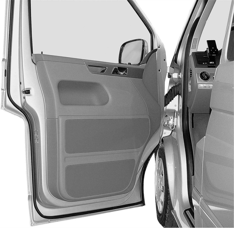 N\A Tira de Sello del Coche 10 Metros para VW T5 T5.1 T6 Transporter Multivan Caravelle Campervan California Caba/ña Extra T32 Sello de la Puerta Strips Actualizar 16 x 16 mm