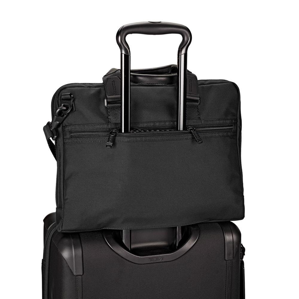 TUMI - Alpha Bravo Aviano Laptop Slim Brief Briefcase - 15 Inch Computer Bag for Men and Women - Black by TUMI (Image #5)