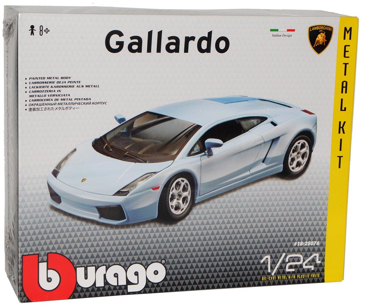 Lamborghini Gallardo Blau Kit Bausatz 1 24 Bburago Burago Modellauto