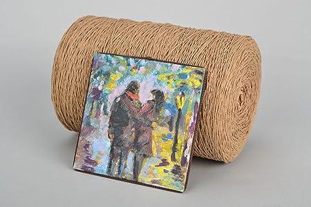 Iman para la nevera artesanal: Amazon.es: Hogar
