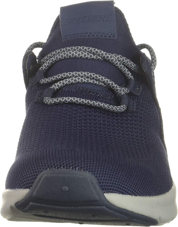 Skechers Nicholas-Lishear Walking Sneaker with Memory Foam Insoles Navy Charcoal