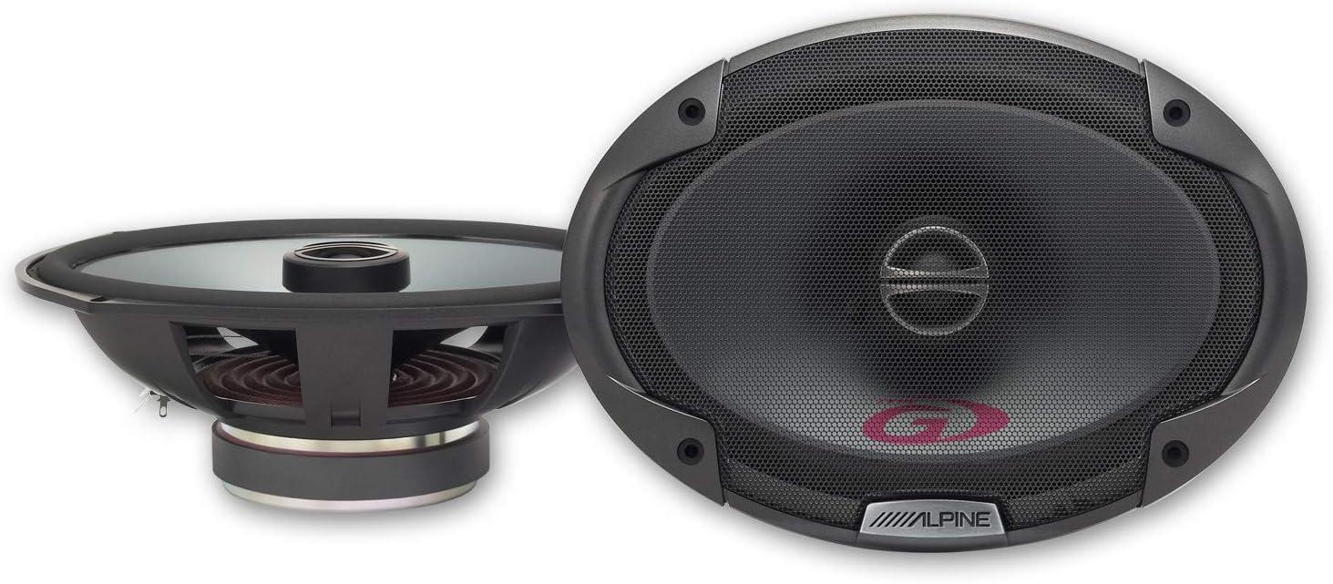 Alpine Spg 69c2 16x24 Cm 6x9 Zoll 2 Wege Koaxiallautsprecher Audio Hifi