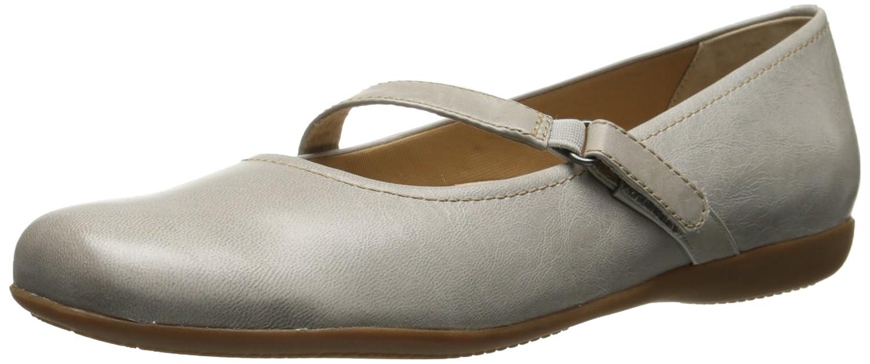 Trotters Women's Simmy Mary Jane Flat B00LMI2GNI 10 B(M) US|Light Grey
