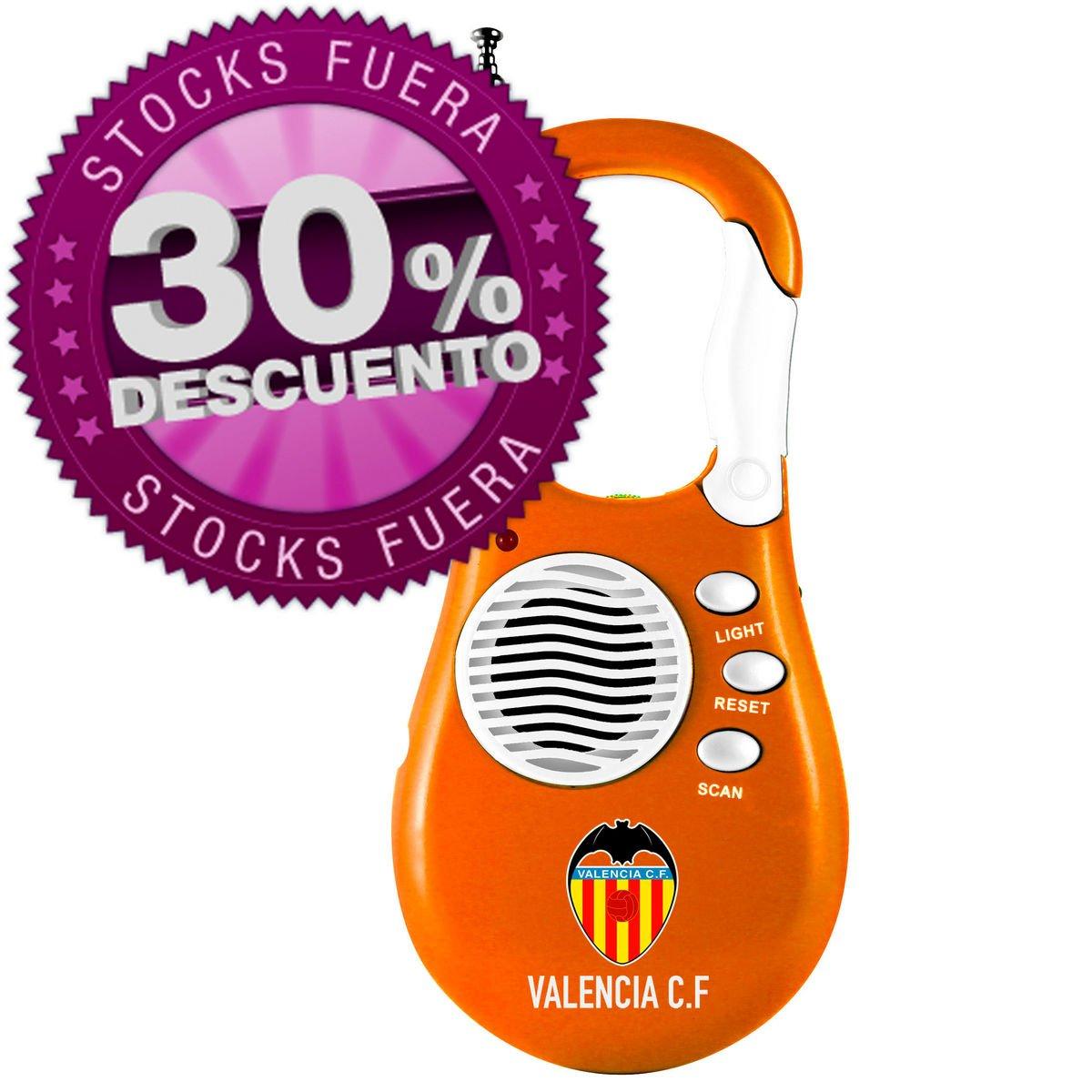 Productos Oficiales - Radio portatil mosquetón valencia cf: Amazon ...