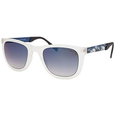 30b18ed399b Techno Black Reef Sunglasses White and Camo Frame  quot  Blue  quot   TMEW001-08