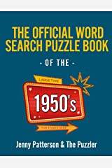The Official Word Search Puzzle Book of the 1950's (Puzzler) Paperback