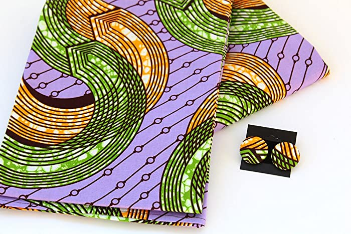 Amazon com: Purple African Head Wraps for Women with