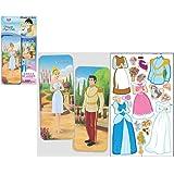 Magnetic Paper Dolls Travel Tin - Cinderella