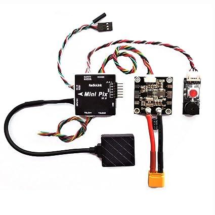 Amazon com: Hobbypower Radiolink Mini PIX PX4 Flight Controller
