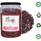 The Indian Chai - Organic Hibiscus Flower Tea 100g|Herbal Tisane|Reduces Blood Sugar
