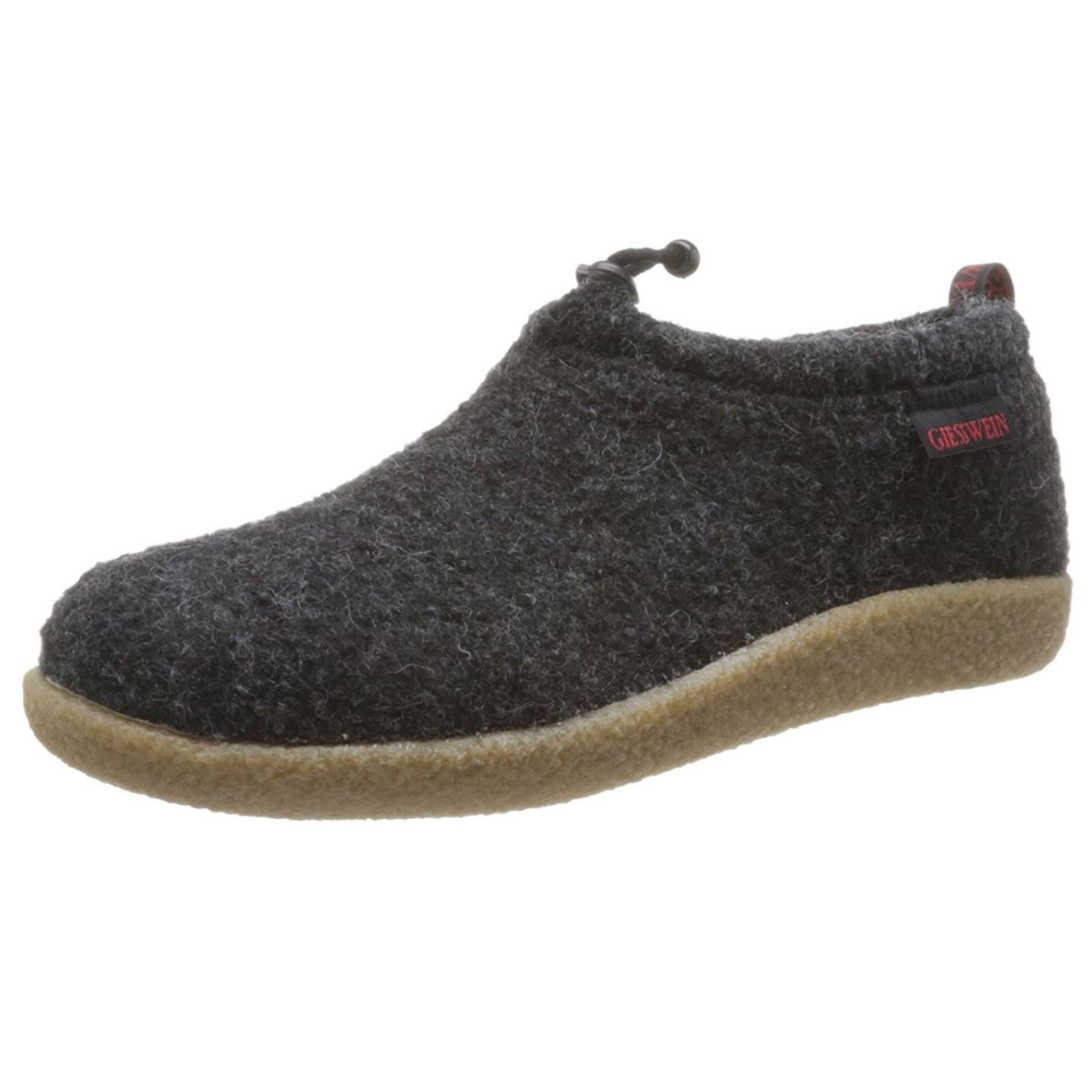 Giesswein Mens Vent Anthracite Wool Shoes 42 EU