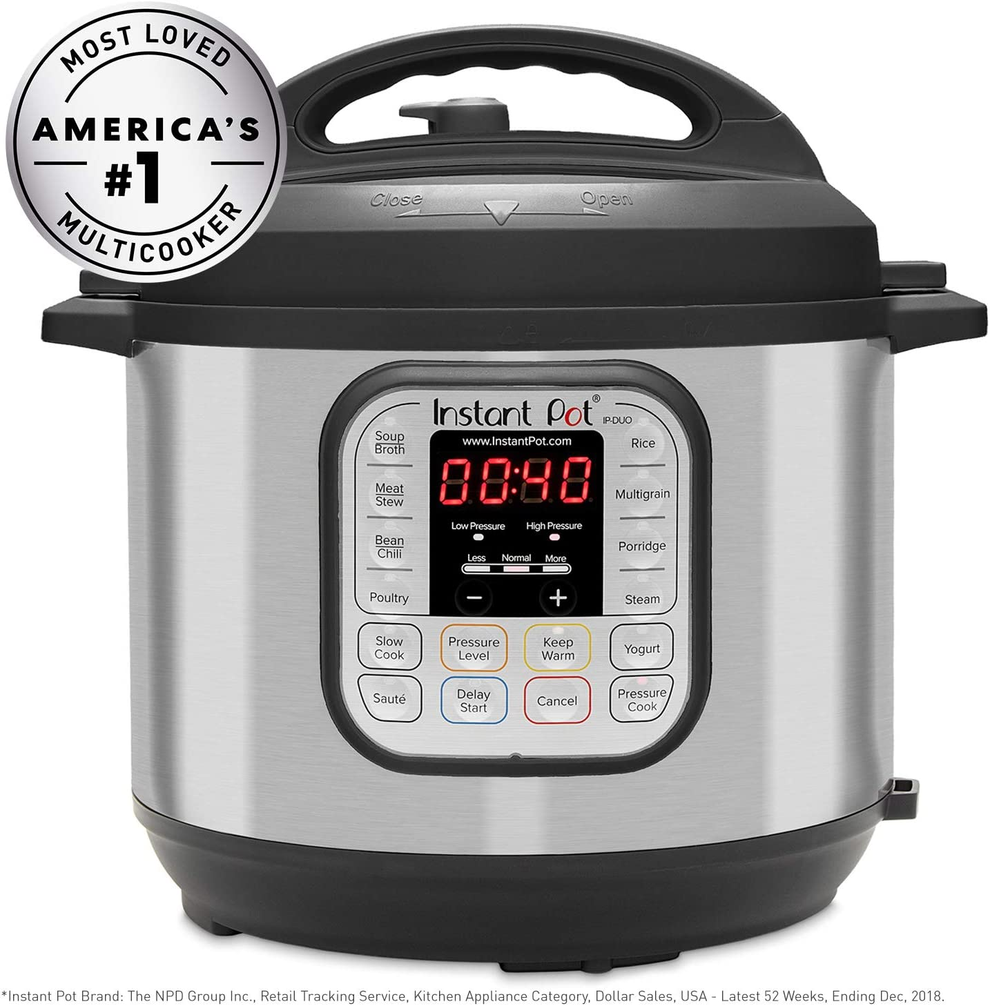 Instant Pot Duo Pressure and Slow Cooker