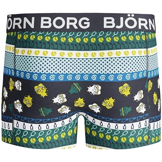 Bjorn Borg 8-Bit Borg Print Boys Boxer Trunk Black//Multi