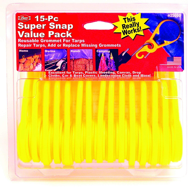 Byers 15-Piece Super Snaps Box (Расk оf Fоur)