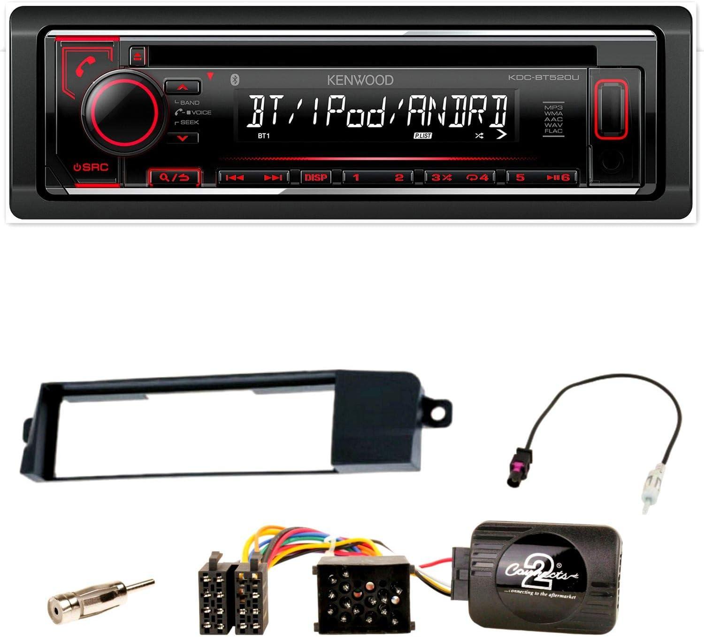 Kenwood Kdc Bt520u Bluetooth Flac Autoradio Usb Aux Elektronik